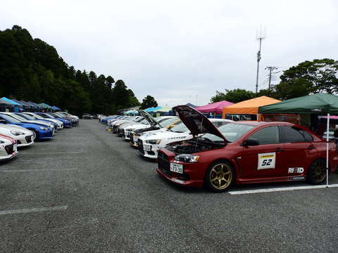 2015JAF関東ジムカーナ選手権*第4戦 試走ドライバー