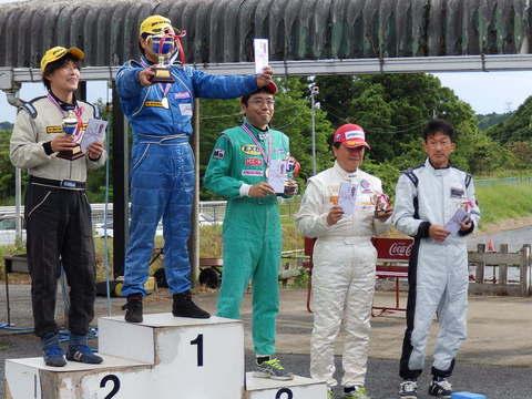 2015JAF関東ジムカーナ選手権*第4戦 表彰式画像